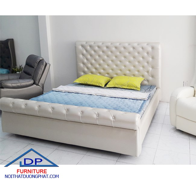 Giường Bọc Nệm DP-06